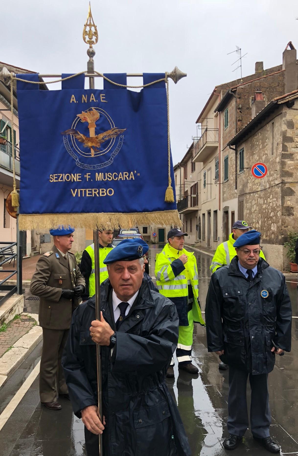 Cerimonia 4 Novembre Villa San Giovanni in Tuscia