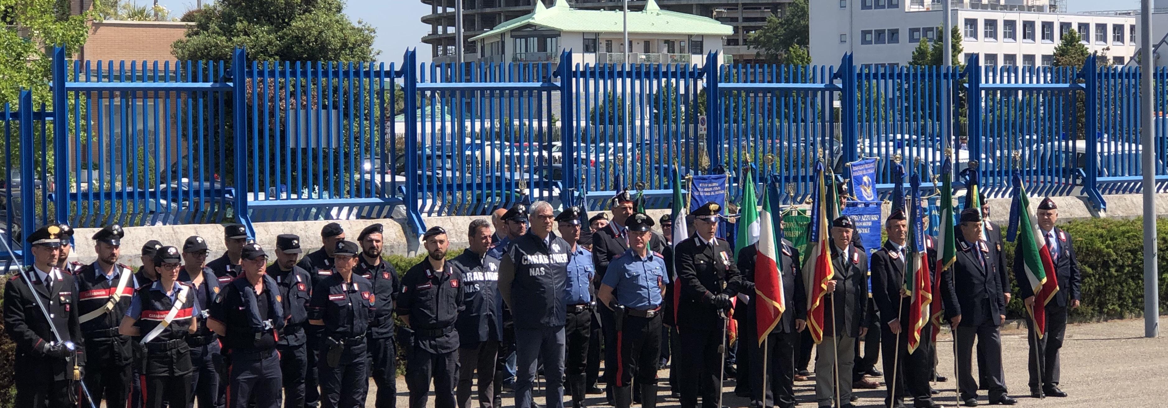 205 Anniversario della fondazione dell'arma dei Carabinieri